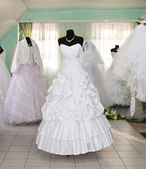 Wedding dresses — Foto Stock