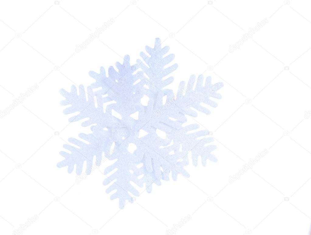 Snowflake isolated on white background — Stock Photo #13433181