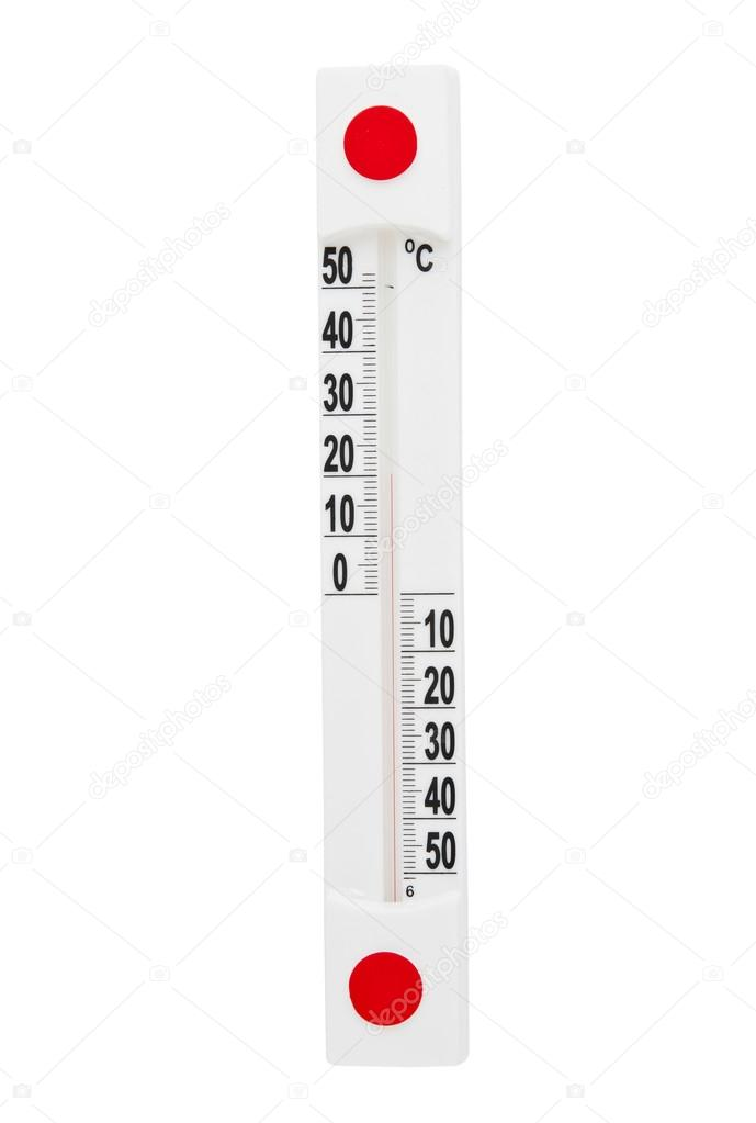 Thermometer isolated on white background — Stock Photo #13765825