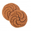 Large chocolate cookie — Stock Photo #15183233