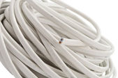 Elektrische kabel, geïsoleerd — Stockfoto