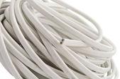 Elektrische kabel isoliert — Stockfoto