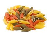 Close up of a dried italian pasta — Stock Photo
