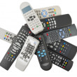 TV remote control isolated  — Stock Photo