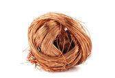 Copper wire isolated — Stock Photo