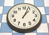 Clock on the wall — Stock Photo