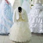 Wedding dresses — Stock Photo #18167935