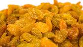 Close-up of yellow raisins — Stock Photo