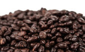 Dark brown dragee, chocolate covered sunflower seeds — Stockfoto