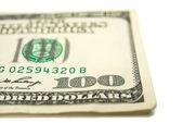 Dollars isolated — Stock Photo