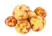 Potatoes isolated — Stock Photo