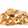 Royalty-Free Stock Photo: Pile of muesli isolated