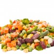 Frozen vegetables mix — Stock Photo #19757779