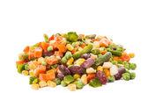 Frozen vegetables mix — Stock Photo