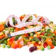 Frozen mixed vegetables — Stock Photo #19763441