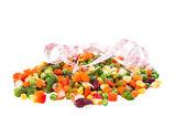 冷凍野菜 — ストック写真