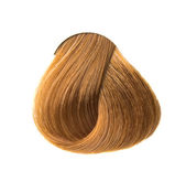 Lock of hair color — Stock Photo