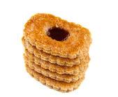 饼干果酱 — 图库照片