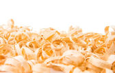 Wood shavings — Foto Stock