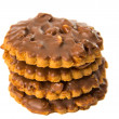 Cookies with chocolate and nuts - Foto Stock