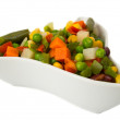 Vegetables in a bowl - Stock Photo