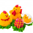Easter sugar confectionery — 图库照片