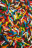 Sugar sprinkle dots — Stock Photo
