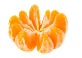 Tangerine isolated — Stockfoto