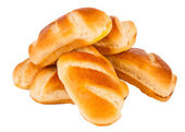 French bun isolated — Stock Photo