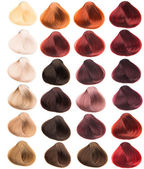 Hair samples — Stock Photo