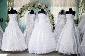Suknie ślubne — Zdjęcie stockowe