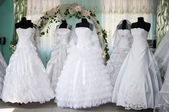 Wedding dresses — 图库照片