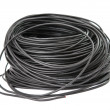 Stock Photo: Black wire