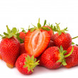 Strawberry isolated — Stock Photo