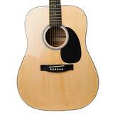 Akustická kytara, samostatný — Stock fotografie
