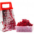 The composition of the grated beets. — Stock Photo
