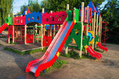 Children playground — Foto Stock