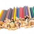Colour pencils isolated — Stock Photo #29640485