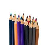 Lápices de colores aislados — Foto de Stock