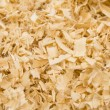 Background of wood shavings — Foto Stock