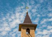 金キリスト教の十字 — ストック写真