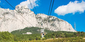 Cable car to Ai-Petri summit — Stock Photo