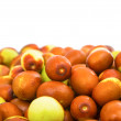 Jujube isolated — Stock Photo