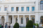 Livadia Palace (summer retreat of the last Russian tsar, Nichola — Foto Stock