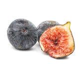 Ripe fresh figs isolated — Stock Photo