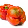 Red bell pepper isolated — Stock Photo #33817529