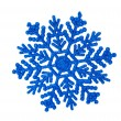 Blue snowflakes isolated — Stock Photo #34831281