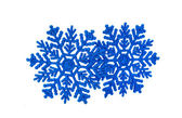 Snowflakes isolated — Stock Photo