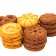 Biscuits isolated — Stock Photo