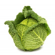 Savoy cabbage isolated — Stock Photo #35736399